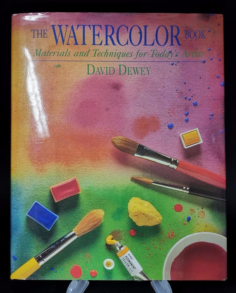 The Watercolor Book by David Dewey : 170 pages of techniques