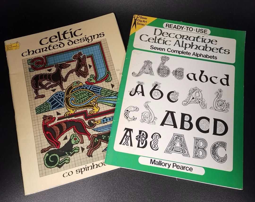 Celtic Charted design and Decorative Celtic alphabets