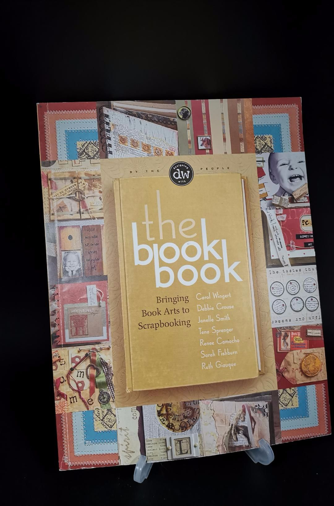 The book book : Bringing Book Artists to Scrapbooking