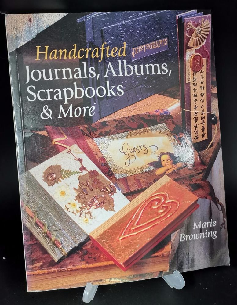 Handcrafted Journals,Albums , Scrapbooks and more : Marie Browning