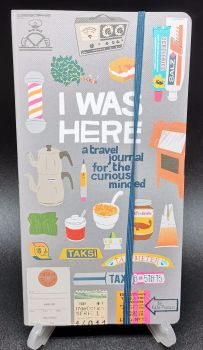I Was Here : A travel journal for the curious minded : Kate Pocrass