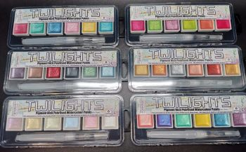 Twilights : Full set of 36 Pearlescent colours