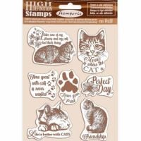 Stamperia High Definition Stamps Cats