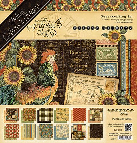 New Product : G45 French Country 12 x 12 Collectors edition
