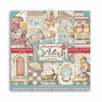 New Product : Alice 12 x 12 paper pad