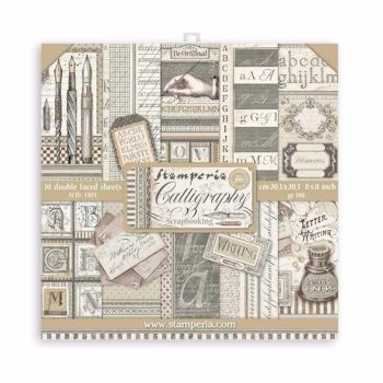 New Product : Calligraphy 8x8 paper pad