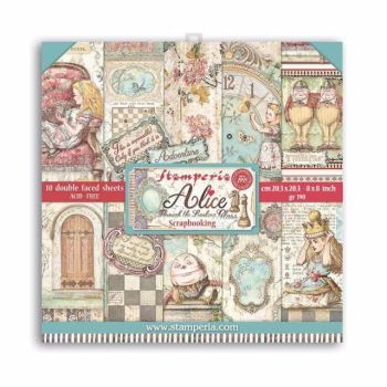 New Product : Alice 8x8 paper pad