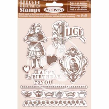 New Product :  Alice High Definition Stamps