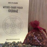 Courage - Witches Charm Pouch