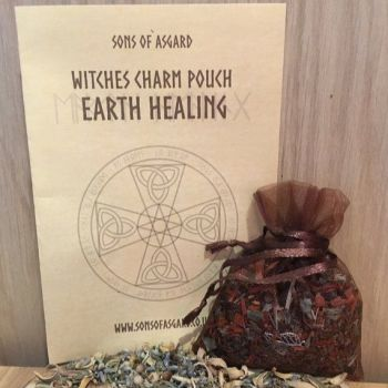 Earth Healing - Witches Charm Pouch