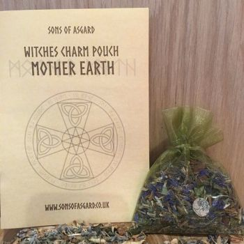 Mother Earth - Witches Charm Pouch