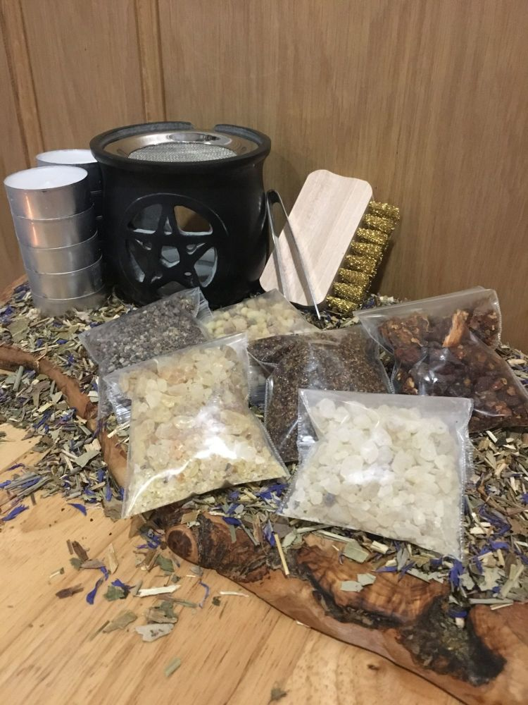 Sacred Resins Incense Kit