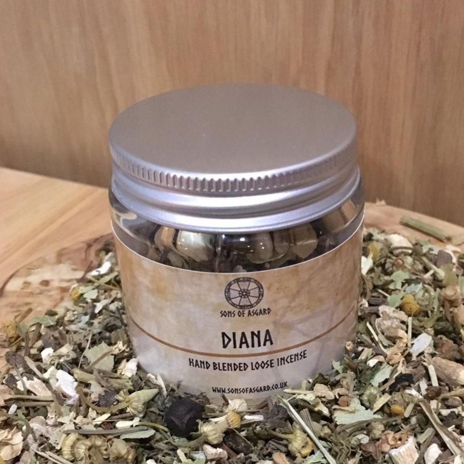 Diana - Hand Blended Loose Incense
