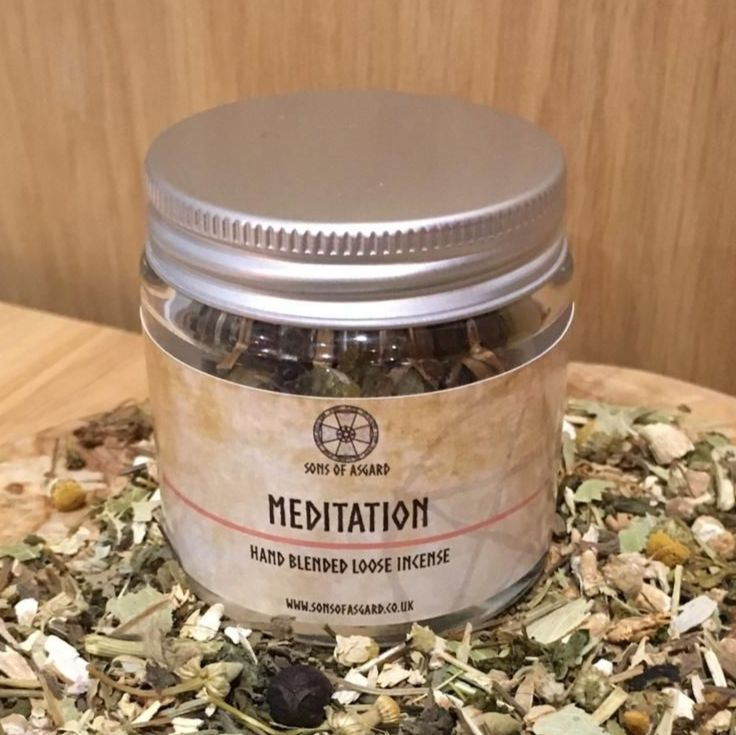 Meditation - Hand Blended Loose Incense