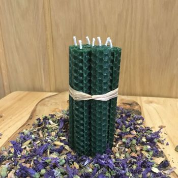 Forest Green Spell Candles