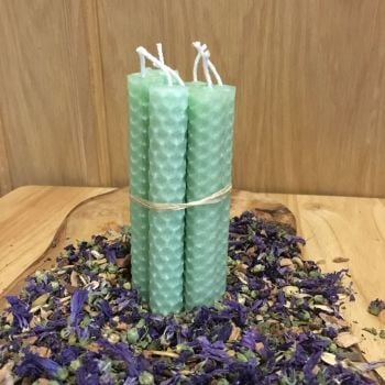 Mint Green Spell Candles