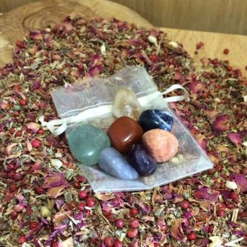 Tumblestone Crystal - 7 Chakra Set