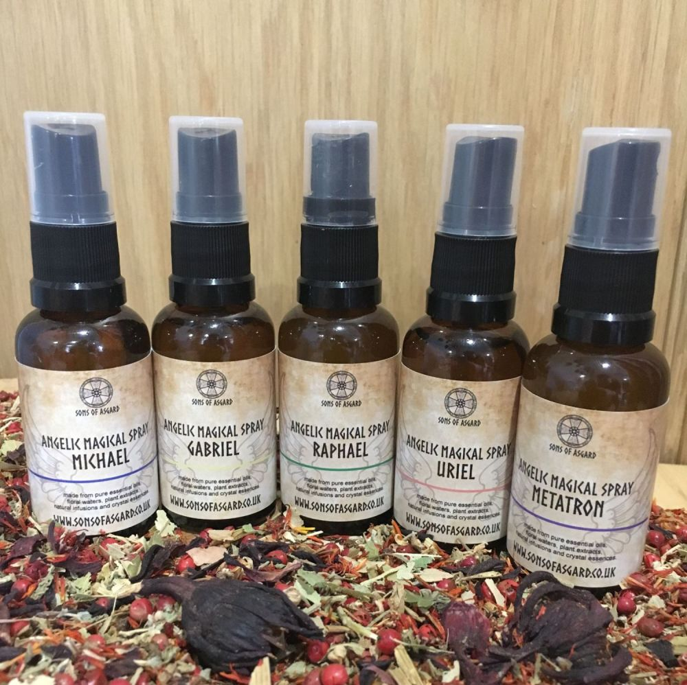 5 Archangel Magical Sprays Gift Set
