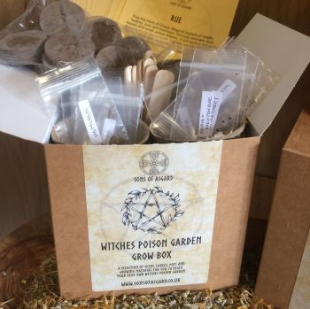 Witches Poison Garden - Grow Box
