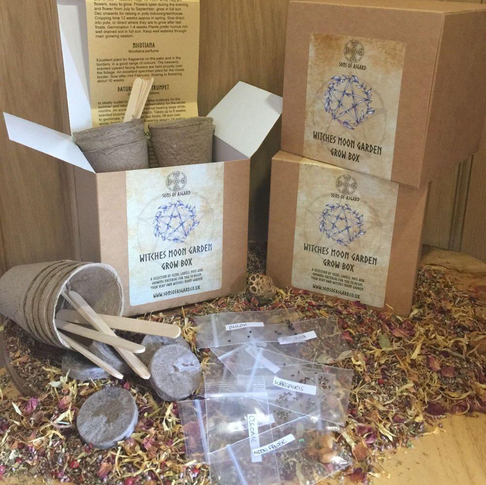 Witches Moon Garden - Grow Box