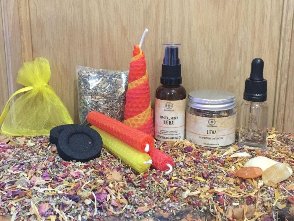 Litha Sabbat Celebration Gift Box