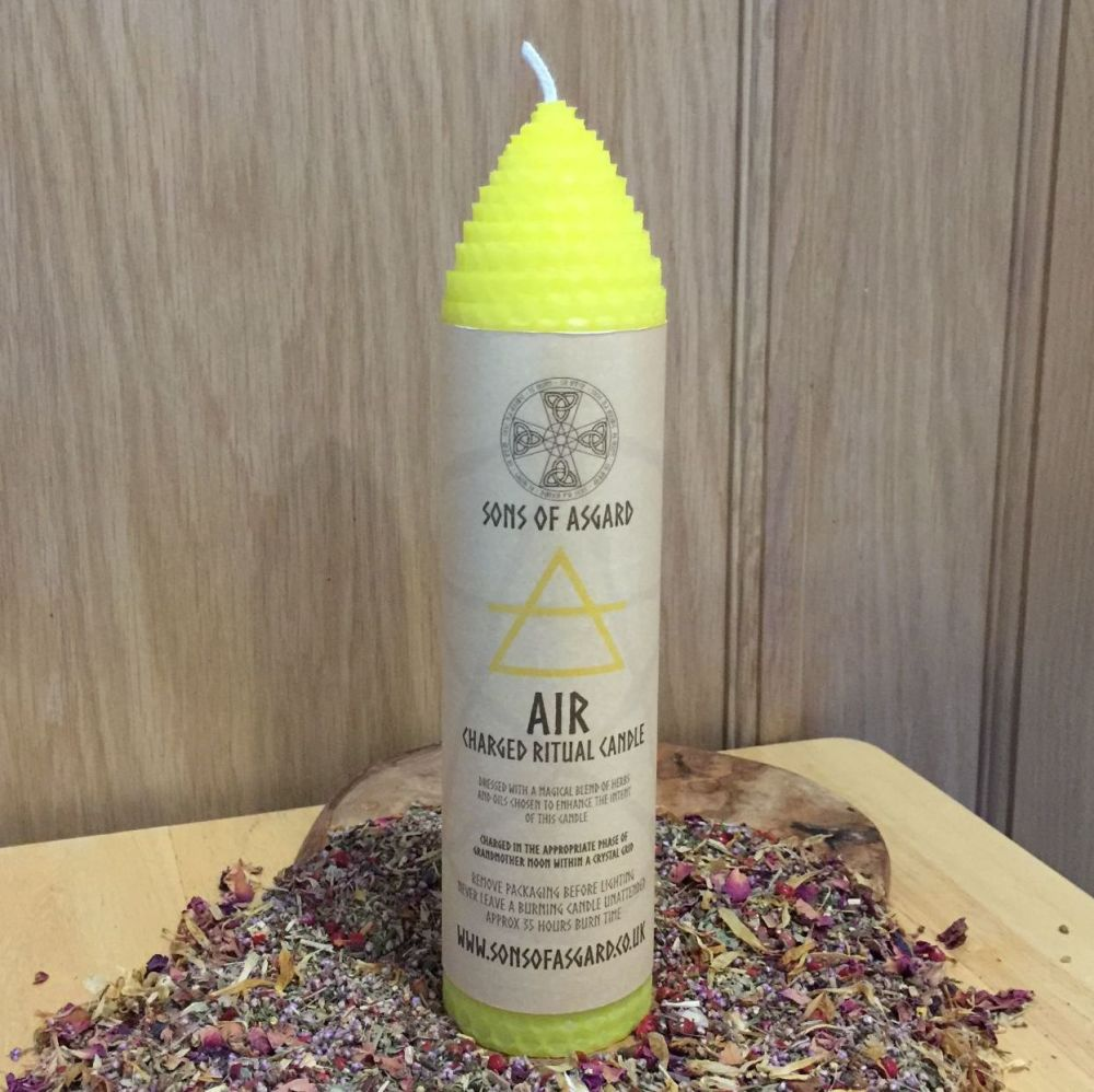 Air - Ritual Candle