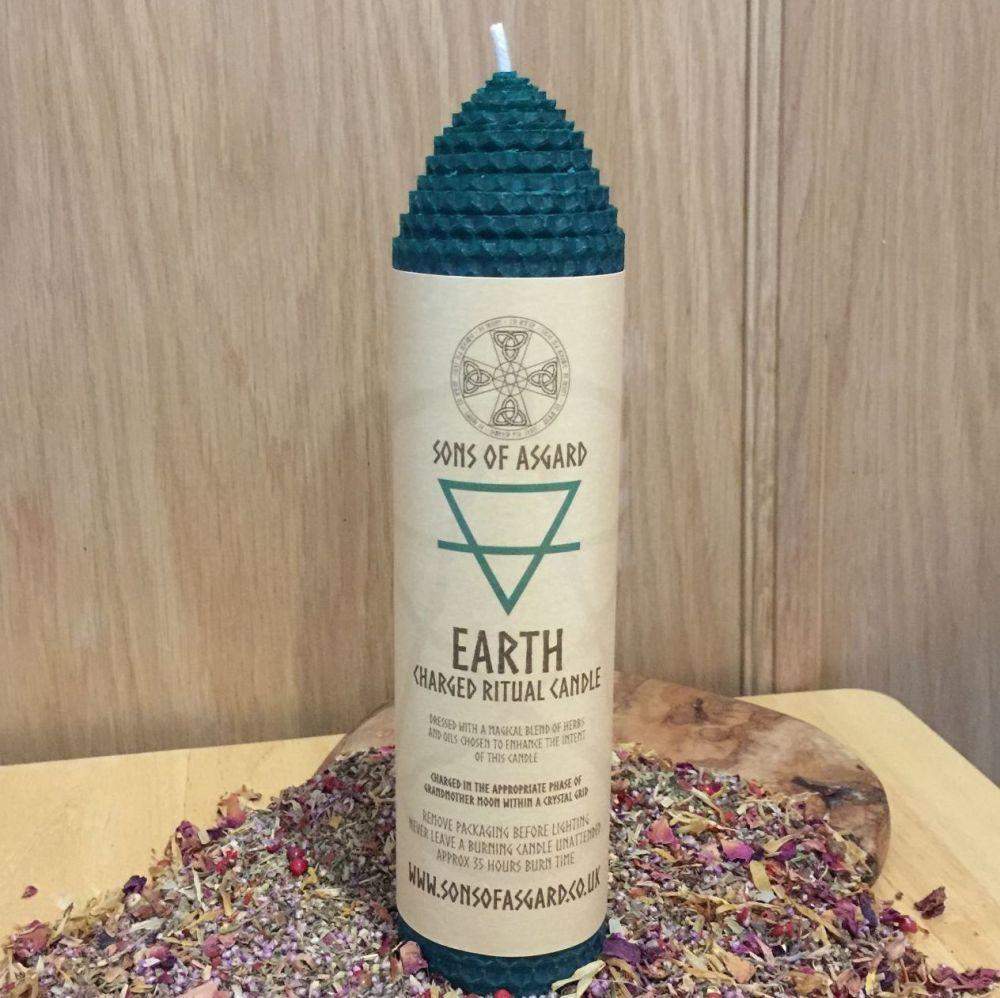 Earth - Ritual Candle