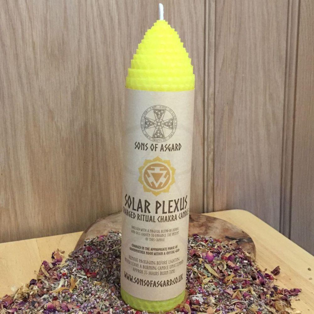 Solar Plexus - Ritual Candle