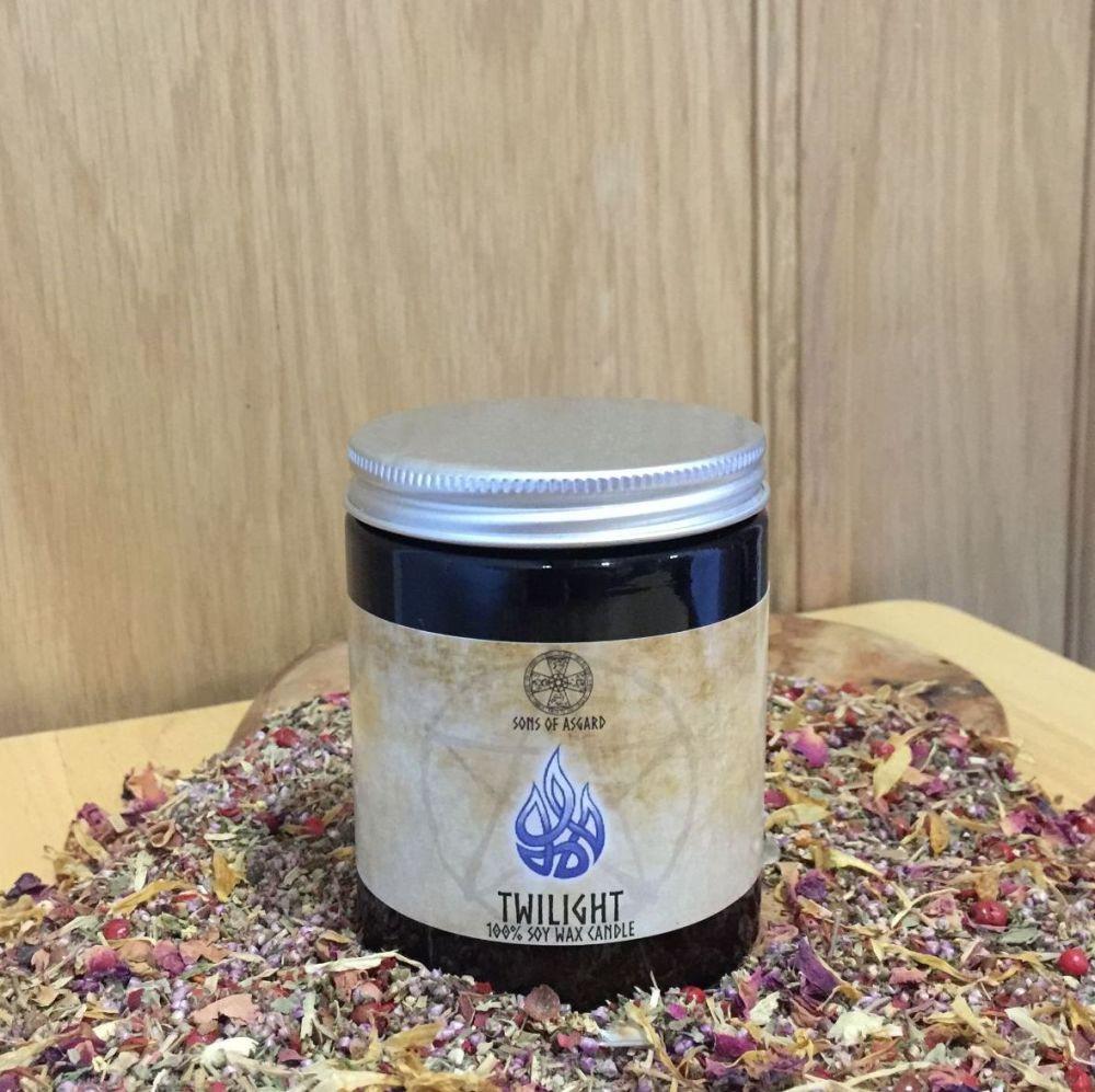 Twilight Candle Jar