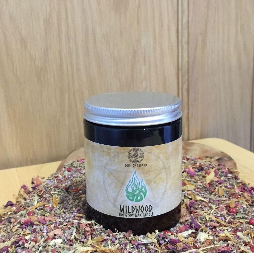 Wildwood Candle Jar
