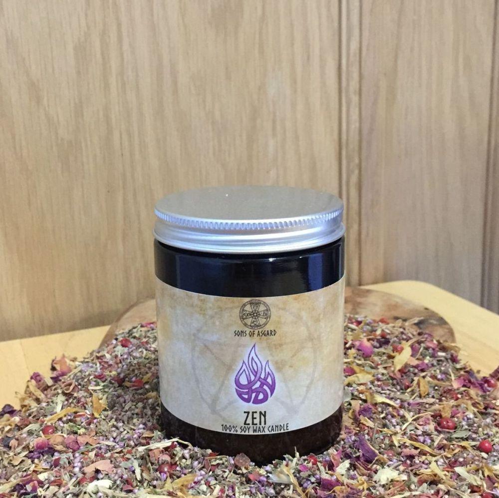Zen Candle Jar