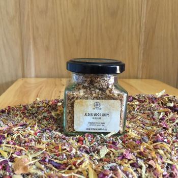 Alder Wood Chips - Apothecary Jar