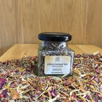 American Mandrake Root - Apothecary Jar