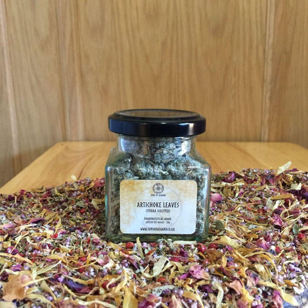Artichoke Leaves - Apothecary Jar