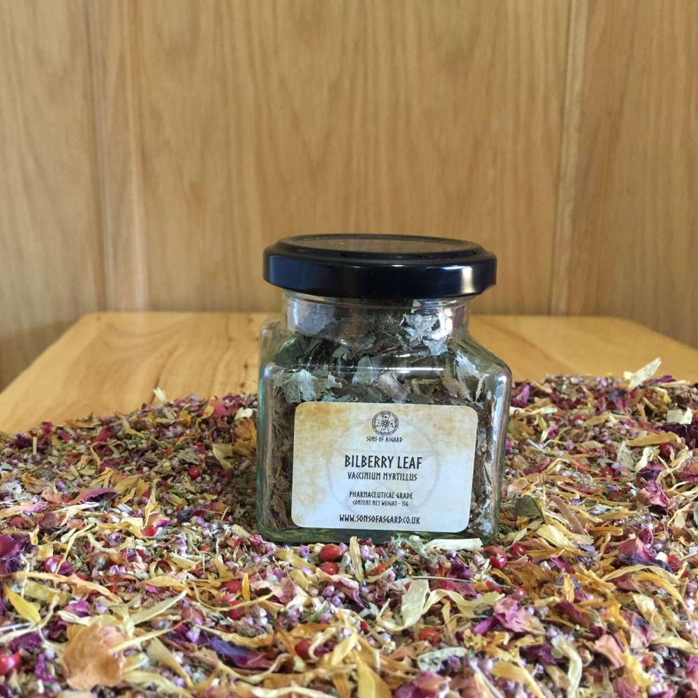 Bilberry Leaf - Apothecary Jar