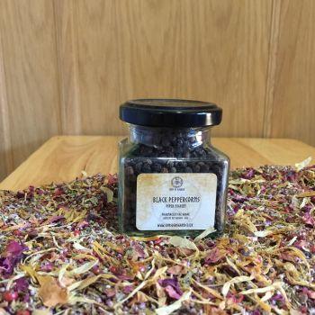 Black Peppercorns - Apothecary Jar