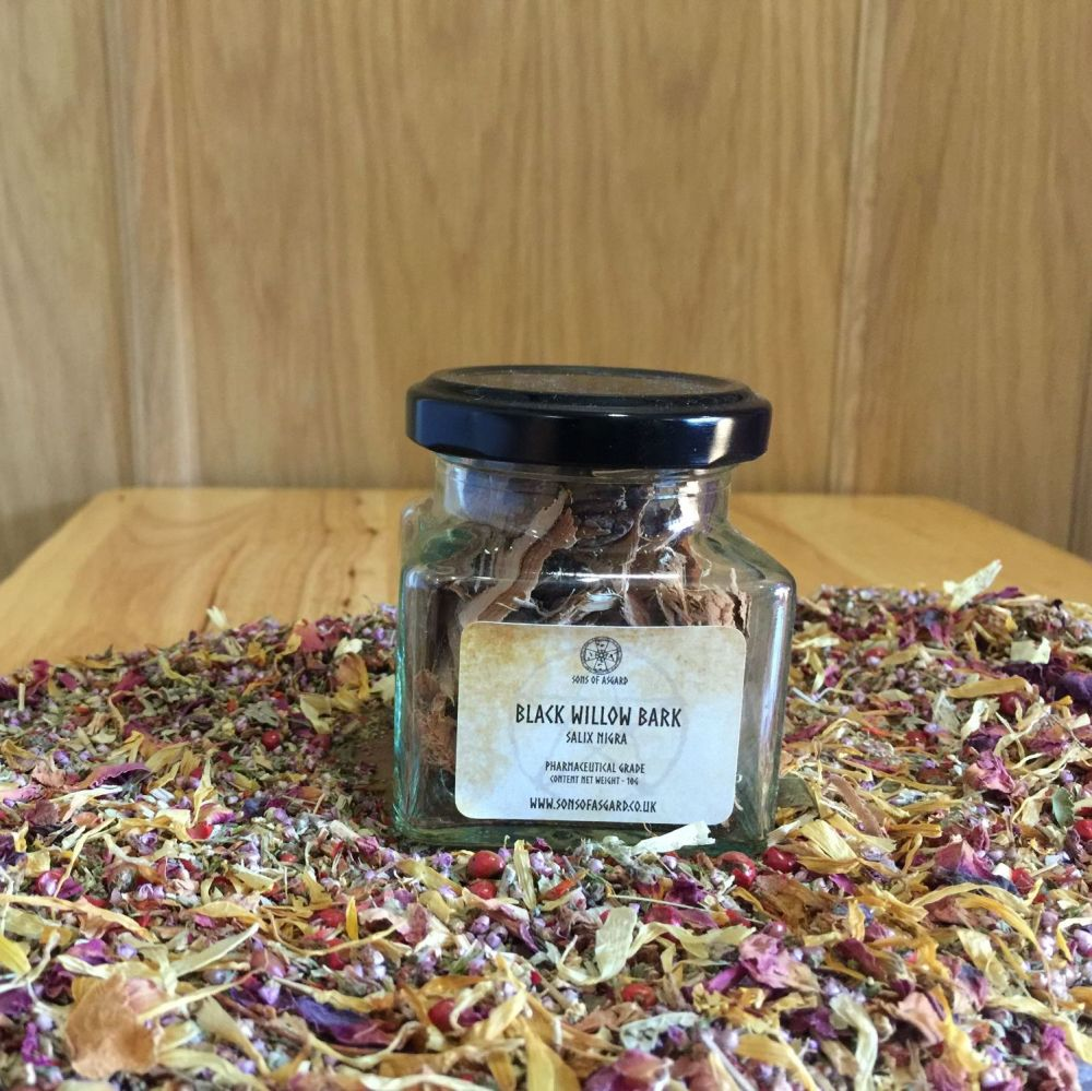 Black Willow Bark- Apothecary Jar