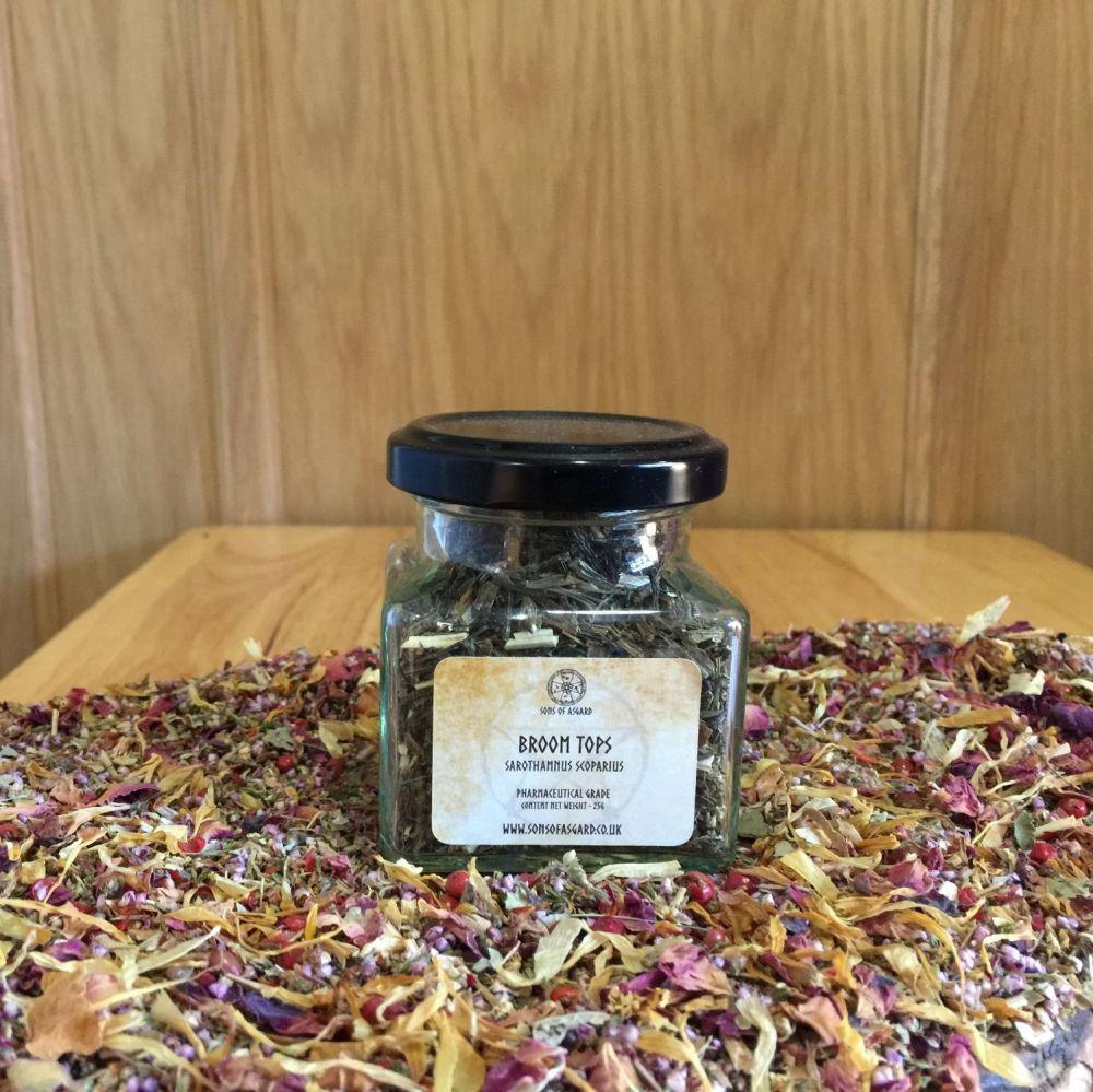 Broom Tops - Apothecary Jar