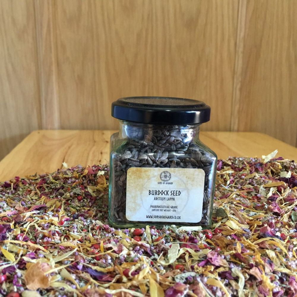 Burdock Seed - Apothecary Jar