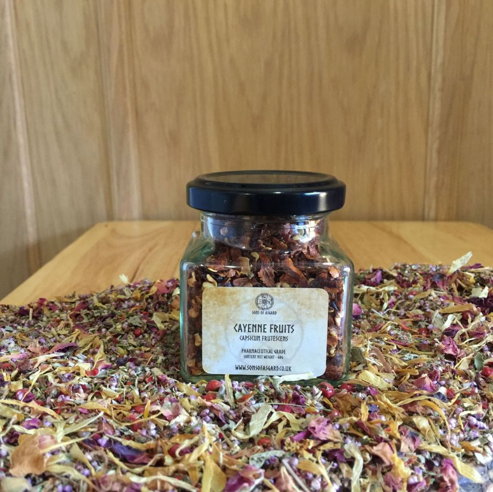 Cayenne Fruits - Apothecary Jar