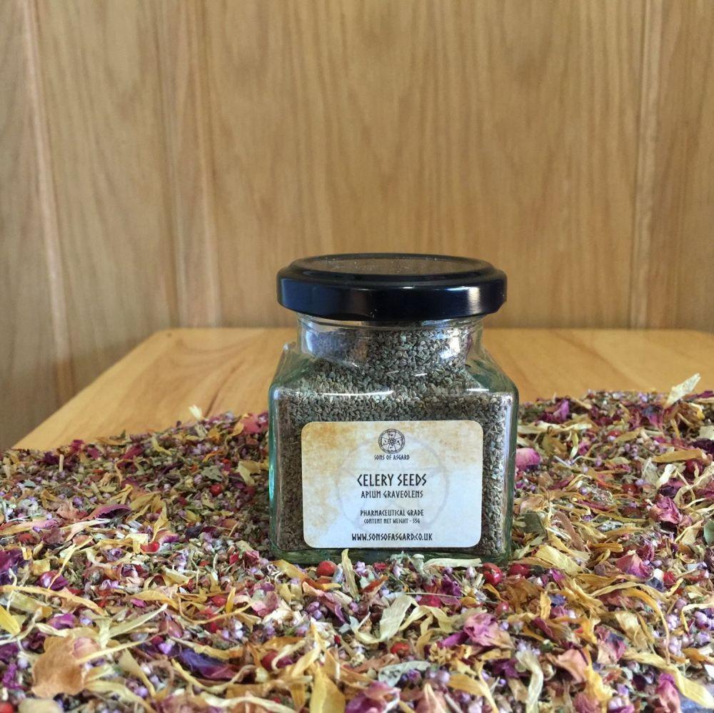 Celery Seeds - Apothecary Jar