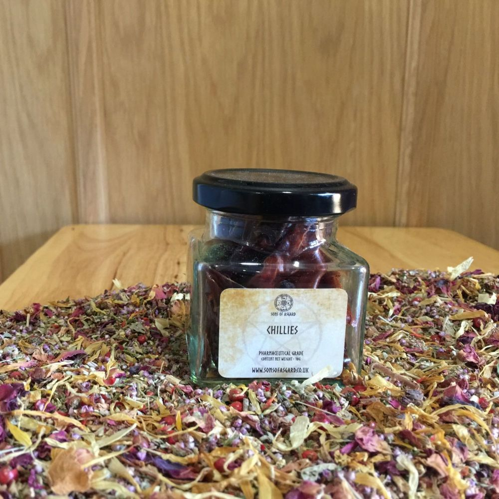 Chillies - Apothecary Jar