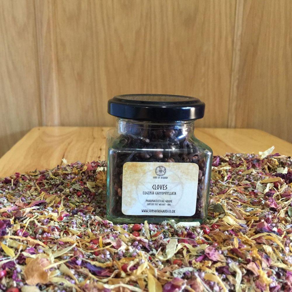 Cloves - Apothecary Jar
