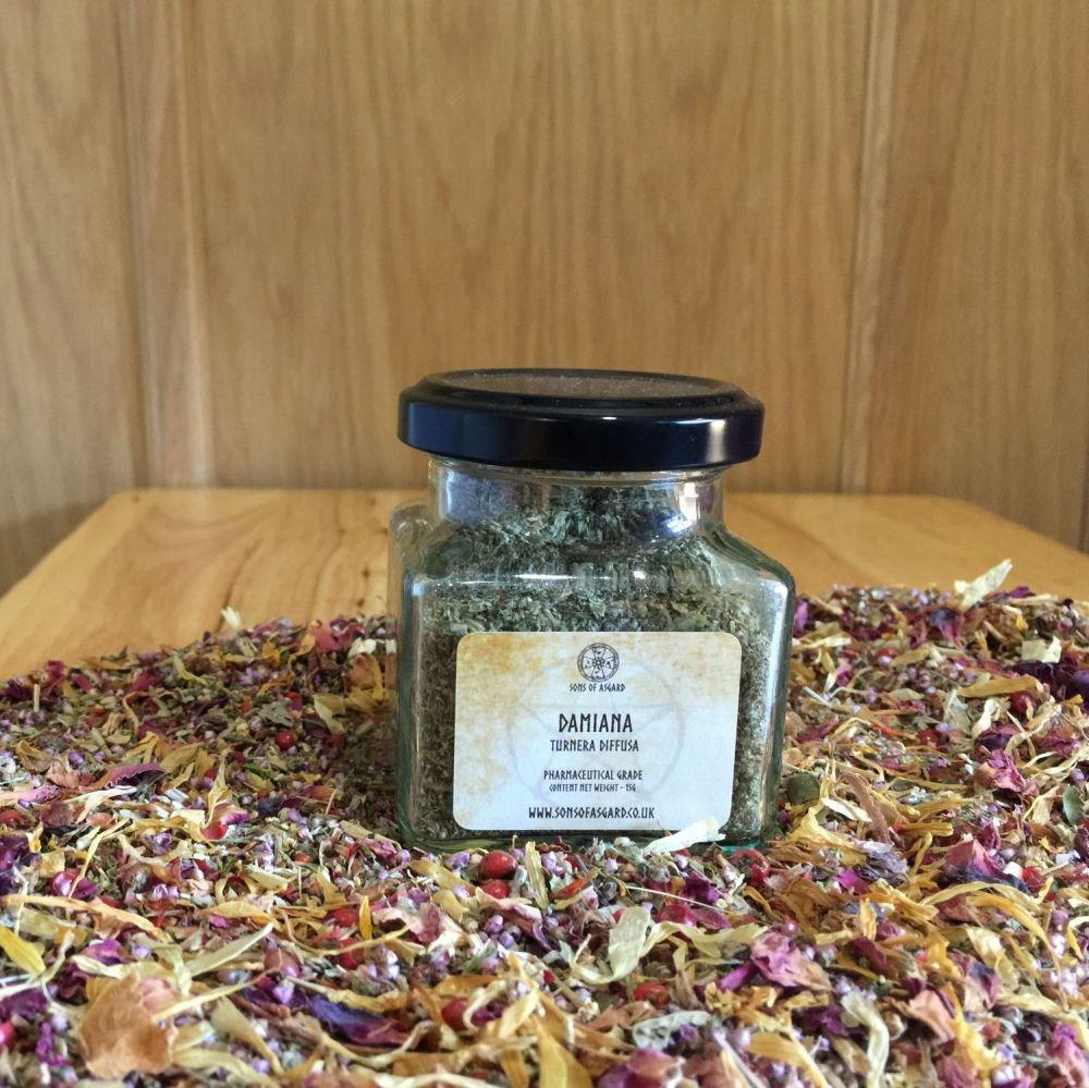 Damiana - Apothecary Jar
