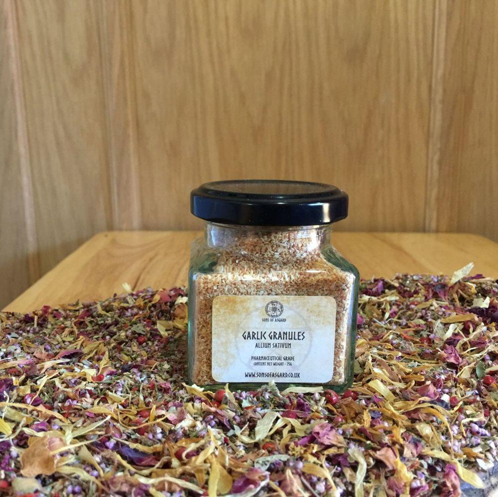 Garlic Granules - Apothecary Jar