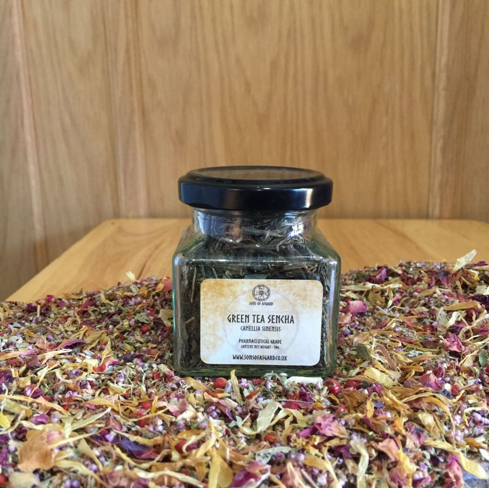 Green Tea Sencha - Apothecary Jar
