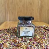 Heather Flowers - Apothecary Jar