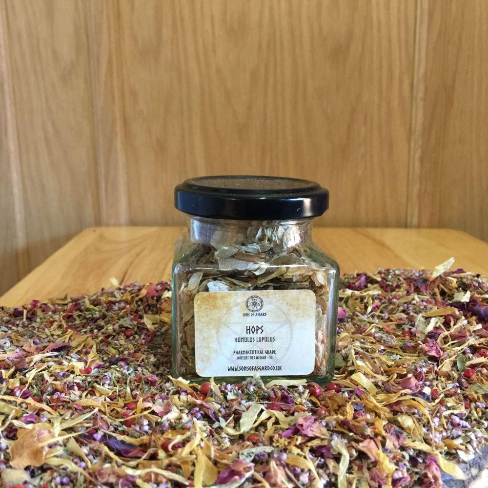 Hops - Apothecary Jar