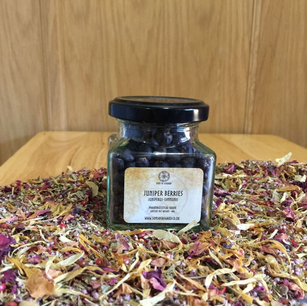 Juniper Berries - Apothecary Jar