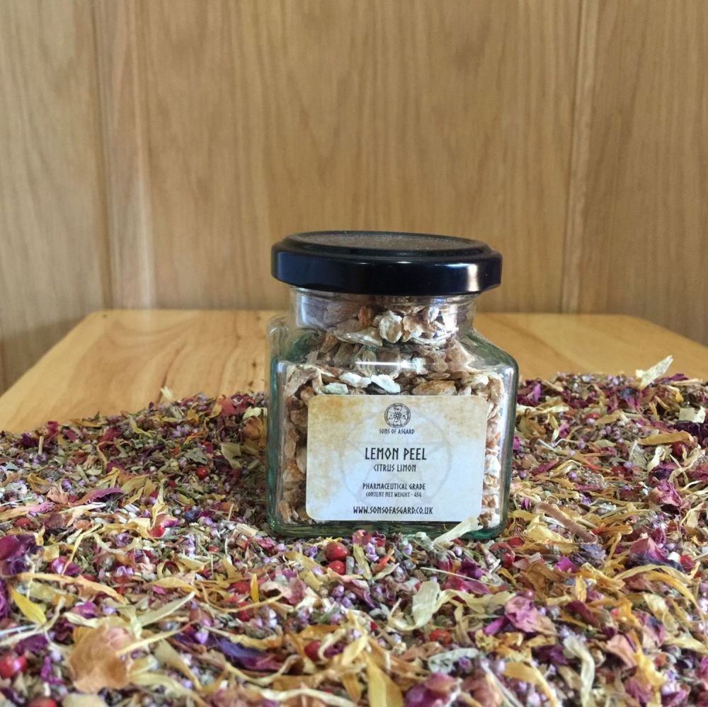 Lemon Peel - Apothecary Jar
